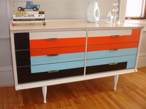 before and after: mike's modern dressers | Design*Sponge