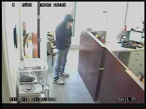 Lakeland Bank Robber