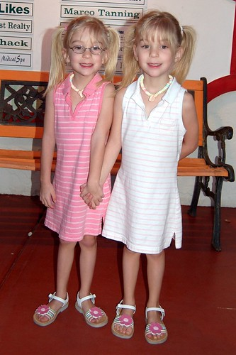Twin sisters!