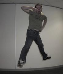 Day 132 - Boing! (JonSaunders) Tags: goal jump celebration jeans hero late vans 365 boing levis buttonfly beergut leapyear yesthatsrightcarltonpalmer ormaybeimisheardthat oldcarltonpalmertshirt hesacult 10tothecountyboys