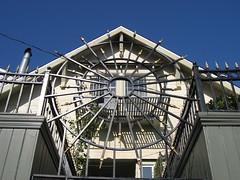 Houses of the Rising Sun #5 (15th St and Beaver St) (throgers) Tags: house metal pointy guesswheresf sunburst foundinsf houseoftherisingsun gwsf