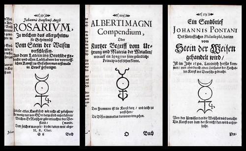 Alchymistisch Sieben-Gestirn 1675