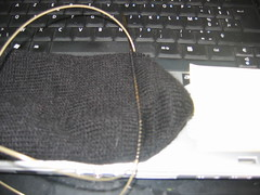Misknitted sock - part 2
