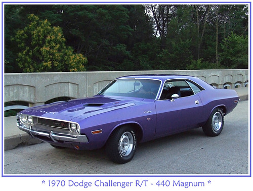 Plum Crazy 1970 Dodge Challenger