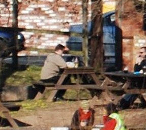 Me reading at Mill on the Exe