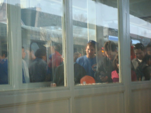 Rush hour + night game at Wrigley = public transport nightmare