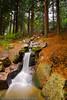 Waterfall (Matt Hawkins (York)) Tags: morning trees motion fall countryside early waterfall still nikon slow calm hawkins mathew d80