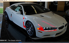 Le mix (Rom_1) Tags: white m1 fake bmw faux m3 blanche 2008 weiss 2009 alpin