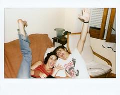 Weird (Moy) Tags: friends amigos happy weird sonrisa mad locos instax contento