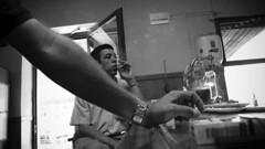 Calasparra #003 (César J. Sánchez) Tags: street city people urban blackandwhite bw españa blancoynegro beer bar blackwhite calle spain gente smoke cerveza streetshots streetphotography documentary social bn panasonic urbana streetphoto blanc streetphotos bares blancinegre fumador callejera streetphotographer streetpics calasparra blackandwhitepeople fotografiacallejera dmclx2 regiondemurcia cesarjota streetphotograpers cesarjsanchez césarjsánchez