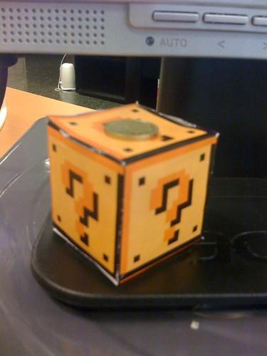 Retallable del cub del Super Mario