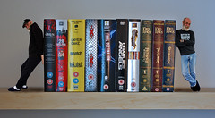 Day195 yr2 Book ends (tootdood) Tags: dvd group over falling stop bookends decent day195 yr2 365days threesixtyfive themagicdolphinlovesme