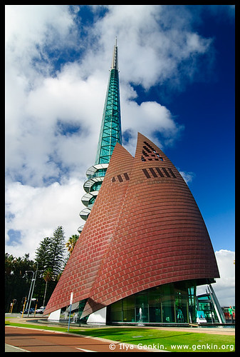 The Swan Bell Tower, Perth, WA, Australia