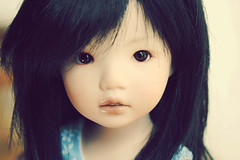 Leah (customlovers) Tags: asian doll leah expressions bisque dianna porcelain monique effner customlovers