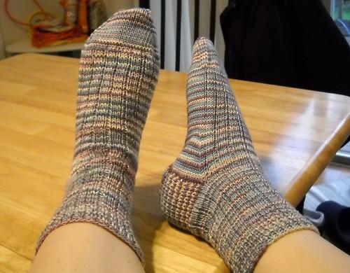 My first socks