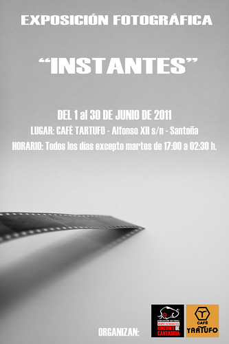 Cartel exposición Junio 2011