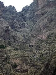 Ravins sommitaux du Fangu à sa source