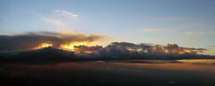 Panoramic Sunset 3 (Ken Allman) Tags: sunset sky clouds heavens