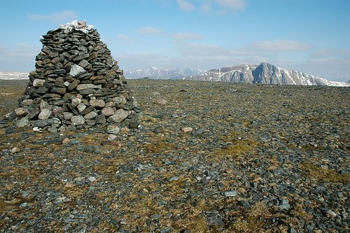 Cairn on top of Beinn Lair