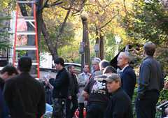 24 filming in DC-4 (kmf164) Tags: show television washingtondc dc washington tv georgetown fox 24 sutherland kiefer filming kiefersutherland