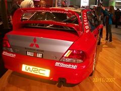 ralli art back (ajong14) Tags: auto show car vw mercedes nissan autoshow mitsubishi solara lancerevo