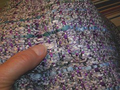 finishing the purple skirt