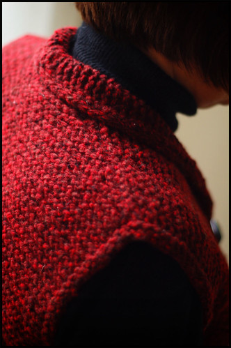 Ribwarmer Collar Detail
