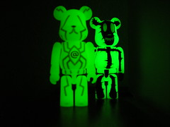 gitd bros (stonelordz) Tags: art dark toy toys design photo glow photographie toyz bearbrik stonelordz