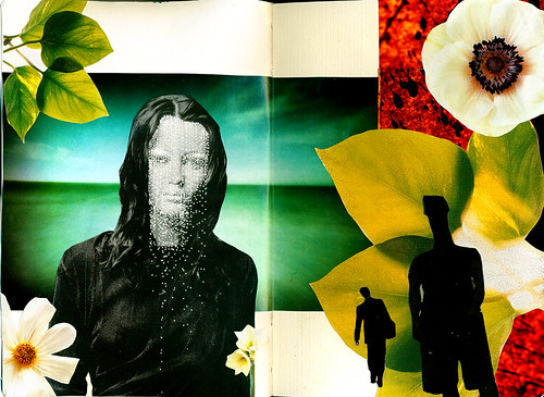 Moleskin collage