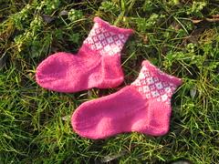 Aunts Christmas socks