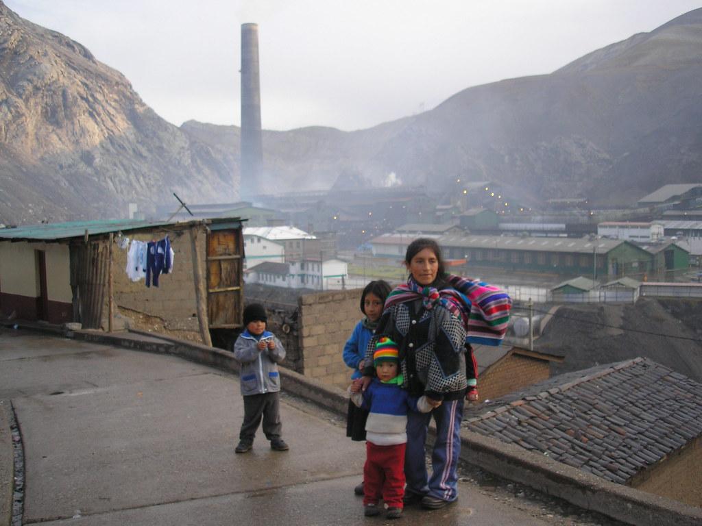 infancia oroya, contaminacion