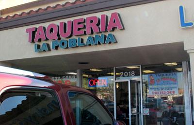 Taqueria La Poblana - Exterior