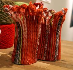 Muddar (Queen Mudd) Tags: knitting wrist warmers stickning