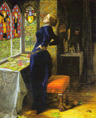 Mariana by Millais 1851 (Martin Beek) Tags: detail art victorian artists painter tutorial mariana millais preraphaelite royalacademy preraphaelitebrotherhood victorianart johneverettmillais victorianpainting victorianartists preraphaelitism theartofjohneverettmillais johneverrettmillais preraphaelitepainters