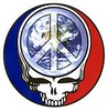 Grateful Dead Steal Your Face peace sign Earth