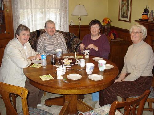 knitting Foursome