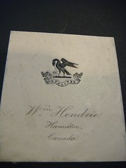 Hendrie Bookplate