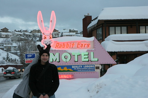 Rabbit Ears at the Rabbit Ears Motel