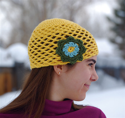 Free Crochet Pattern 40464-1C Cape and Cloche : Lion Brand Yarn