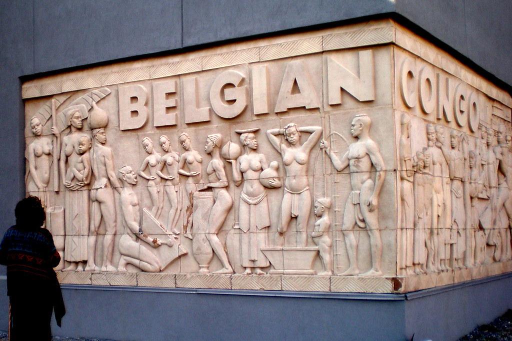 Belgian Congo frieze, 1939 New York World's Fair building