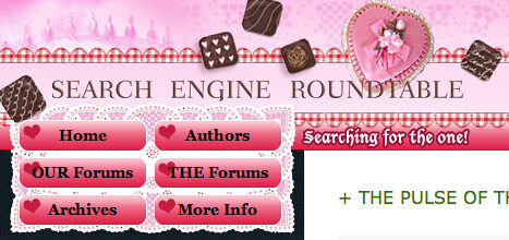 Search Engine Roundtable Valentines Day Theme