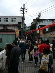 Ping-Shi Traditional Street, Taipei, Taiwan 平溪老街