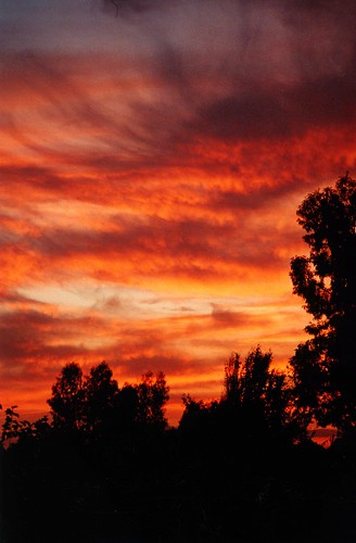 Aquellas puestas de sol....