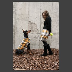 Do you dress like your dog? (hoverfly) Tags: dog dogs giant sweater clothing coat large jacket doberman etsy custom hoverfly dogsweater dogcoat aoe dogjacket iiwteam dobermansweater hoverflyetsycom dobermancoat dobermanjacket
