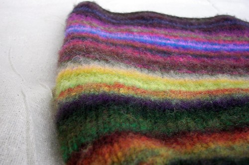 Felted Noro Scraps Bag