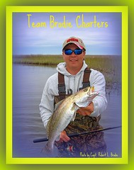 Louisiana Marsh Fishing - Van Clark of St. Martin, MS Poses With A Fine Speckled Trout Caught Wade Fishing In The Louisiana Marsh - Photo By Capt. Robert L. Brodie of TEAM BRODIE CHARTERS (teambrodiecharters) Tags: fish fishing fisherman trout speck angler troutfishing speckledtrout guideservice spottedseatrout wadefishing louisianamarsh beautifulfish vanclark teambrodiecharters bigspeck