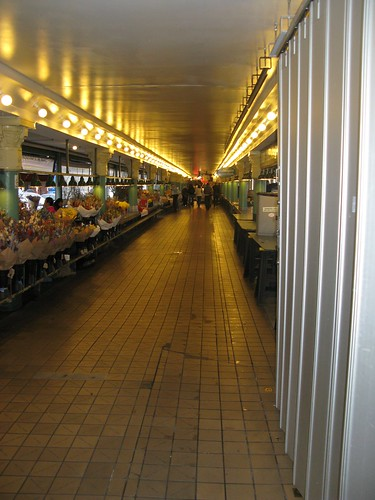 Pikes Place market early in the morning