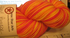 Lone Star Arts Island Paradise sock yarn