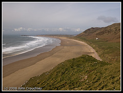 Beach on the Gower March 2008