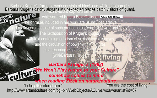 Digitage on Barbara Kruger's Nature/Culture